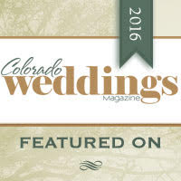 Featured on Colorado Weddings Magazine Blog